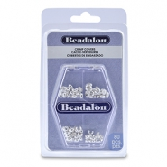 Beadalon Crimp Cover Assorted Silver