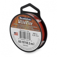 Beadalon Wildfire Wire 0.20mm Red