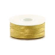 Beadalon Nymo Wire 0.3mm Gold