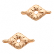 DQ European metal charms connector Rose Gold (nickel free)