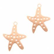 Bohemian charms seastar Rose Gold