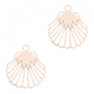 Bohemian charms shell Creamy Peach