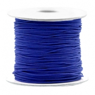 Coloured elastic cord 0.8mm Cobalt Blue
