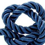 Trendy cord weave 10mm Royal blue