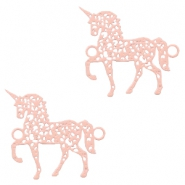 Bohemian connectors unicorn Light Pink