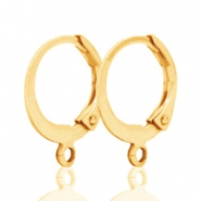 DQ earrings 12mm Gold plated