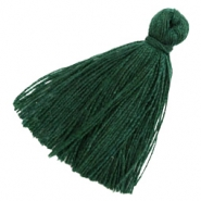Tassels basic 3cm Dark Green
