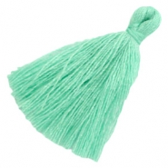 Tassels basic 3cm Light Turquoise Green