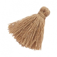 Tassels basic 2cm Roast Brown