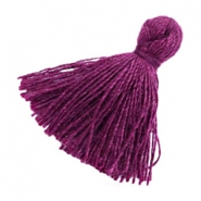Tassels basic 2cm Aubergine Purple