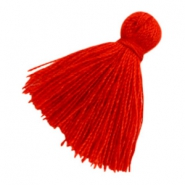 Tassels basic 2cm Red
