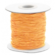 Coloured elastic cord 0.8mm Sunflower Orange