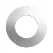 ImpressArt stamping blanks charms ring 25mm Alkeme Silver
