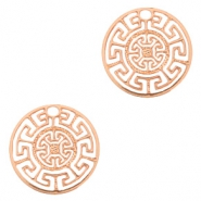 Bohemian charms geometric 13mm Rose Gold