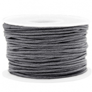 Waxed cord 1.5mm Warm Grey