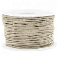 Waxed cord 1.5mm Greige