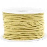 Waxed cord 1.5mm Ceylon Yellow