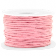 Waxed cord 1.5mm Pink