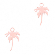 Bohemian charms palmtree Light Pink (nickel free)