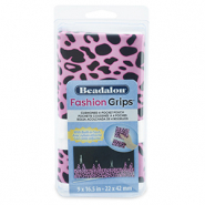 Beadalon Fashion Tool Pouch Cheetah Pink-Black