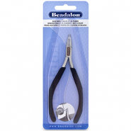 Beadalon Slim Line Bent Chain Nose Pliers Black