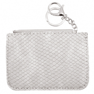 Trendy wallets snake Light Grey