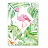Jewellery cards 'for you' Green-Pink