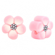 Polymer beads flower pink Light Pink