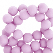 6 mm acrylic beads matt Orchid Bloom Lilac