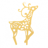 Bohemian charms deer Gold