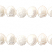 Freshwater pearls nugget 6-7mm White