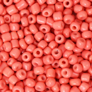 Glass seed beads 8/0 (3mm) Canyon Sunset Pink