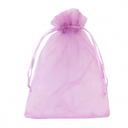 Jewellery Organza Bag 13x18cm Orchid Purple