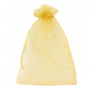 Jewellery Organza Bag 13x18cm Golden Yellow