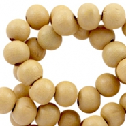 Wooden beads Wooden beads round 8mm