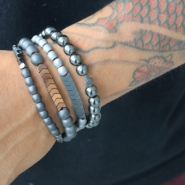 Inspirational Sets Trendy hematite for him and her