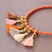 Inspirational Sets Instant fall mood: jewellery with small tassels