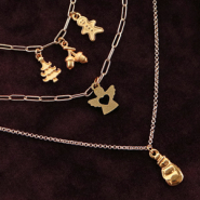 Inspirational Sets Create trendy jewellery with DQ European metal and wooden charms