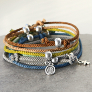 Inspirational Sets DIY: make bracelets with DQ trendy woven cord