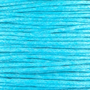 Waxed cord 1.0mm Capri blue