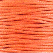 Waxed cord 1.5mm Warm orange