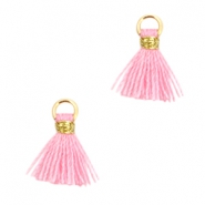 Mini tassels Ibiza style  Gold-rose