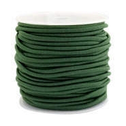 Coloured elastic cord 2.5mm Dark green