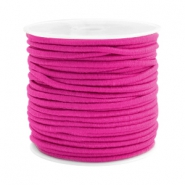 Coloured elastic cord 2.5mm Fuchsia pink