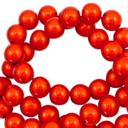 Miracle 3D beads 4mm Electric Orange