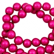 Miracle 3D beads 8mm Fuchsia Pink