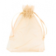 Jewellery Organza Bag 13x18cm Warm Yellow