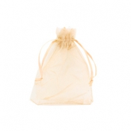 Jewellery Organza Bag 7x9cm Warm Yellow