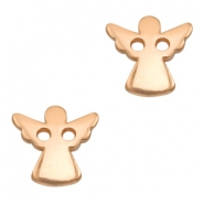 DQ metal charms connector angel Rose Gold (Nickel Free)