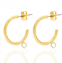 DQ European metal earrings